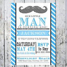 Invites - Mustache Theme                                                                                                                                      ...