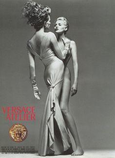 Apparently versace check damn topless donatella