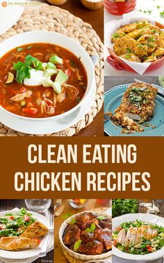 Are you looking for some yummy clean eating chicken recipes? I know I always am, so here's a list of 27 of the best clean eating chicken recipes.