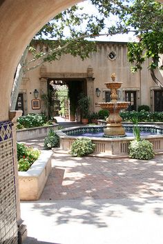 Tlaquepaque, Sedona, Arizona. A very unique and fun shopping center in Sedona. We stayed one block away and had a nice time there.