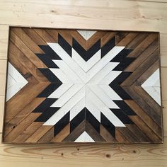 Griffin wood wall art rectangle, reclaimed timber