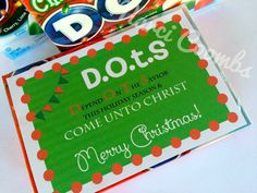 Young Womens Christmas Gifts DOTS Depend On The by MarciCoombs