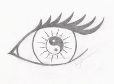 hippie tattoo 437130707584211603 - Yin-yang eye by Scale-of-Grey Source by alyssatutich Easy Doodles Drawings, Art Drawings Sketches Simple, Hipster Drawings, Mini Drawings, Anime Drawings Sketches, Dark Art Drawings, Pencil Art Drawings, Tattoo Drawings, Cute Easy Doodles