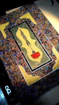 Ebru Art, Painting & Drawing, Bohemian Rug, Dan, Paintings, Rugs, Drawings, Paper, Decor