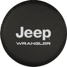 Moonet Jeep Wrangler Spare Wheel Tire Cover With Jeep logo R17…