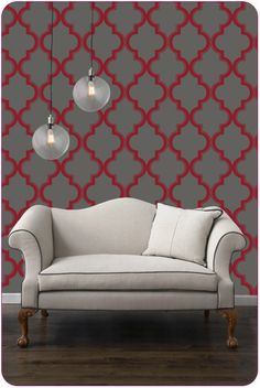 Next up on my wish list: Removable wallpaper by Tempaper. The perfect solution for those suffering from commitmentphobia