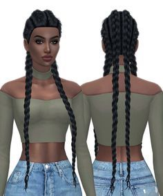 HallowSims Nexus hair retexture at Kenzar Sims • Sims 4 Updates