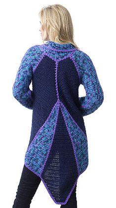 *Free Crochet PAttern:  Cutaway Jacket by Doris Chan