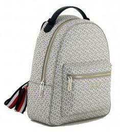 !!!Cityrucksack beige Print Tommy Hilfiger Iconic Monogram neutral Neutral, Tommy Hilfiger Damen, Backpacks, Beige, Fashion, Monogram, Artificial Leather, Handbags, Moda