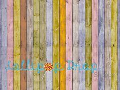 Bright Stripped Wood #lollipopdropshoppe #backdrop #floordrop