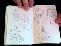 Great Drawing Tutorials by Matthew Archambault, with articles
