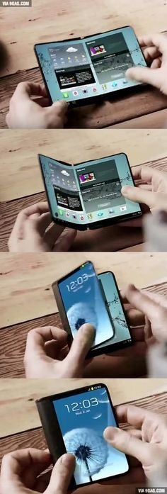 Samsung's foldable smartphone is set to be released next year! – David Boval Samsung's foldable smartphone is set to be released next year! Samsung's foldable smartphone is set to be released in January Next Year Gadgets Électroniques, High Tech Gadgets, Electronics Gadgets, 2017 Gadgets, Kitchen Gadgets, Fitness Gadgets, Baking Gadgets, Amazon Gadgets, Iphone Gadgets