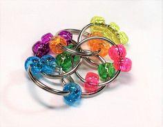 Image result for fidget tools key ring beads DIY