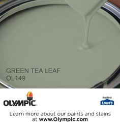 GREEN TEA LEAF OL149 is a part of the greens collection by Olympic® Paint.