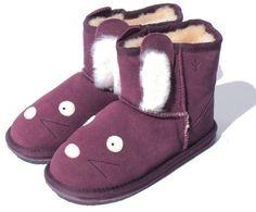 Emu LITTLE CREATURE RABBIT MINI / rabbit shearling boots on ShopStyle