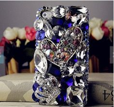 iphone 5s case rhinestone samsung s4 case bling by casehome1818, $22.99