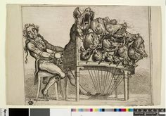 Athanasius Kircher : We've already seen his 'cat organ'  - here's his 'screaming pig organ'.  Psycho.....