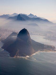 Sugar Loaf  Christ The Redeemer view from Niteroi - Rio de Janeiro - Brazil ➤ http://goo.gl/S83lP - via Letz Go