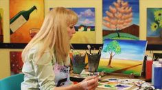 Learn how to paint perspective using acrylic paint from painter Linda Rhea in this Howcast video.