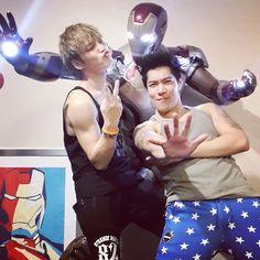 Jaejoong and iron man Bangkok, Thailand, Kim Jae Joong, Keep The Faith, Jaejoong, Tvxq, Partner, Good People, Celebrity News