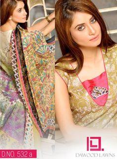 Dawood Textiles Ayesha Samia Eid Dresses 2014: Latest Eid Dresses