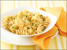 HG's Too EZ Mac n Cheese - a little pasta, a little cauliflower and you have a healthy and DELICIOUS comfort food.