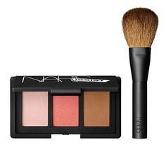 NARSissist Face Palette make up - luxury - beauty - lipstick - perfume - nail laquer - fashion - eyeshadow - model - pencil - eyes - mascara -violet - blue - magenta