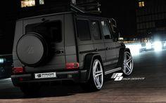 Mercedes Benz G-Class [W463] Wide-Body Aerodynamic-Kit PRIOR-DESIGN Black G55 AMG