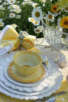 Spring or summer table