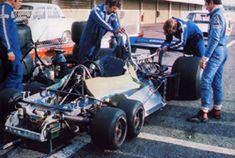 1977 タイレルP34 六輪車 資料室 ポールリカールテスト
