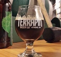 In Athens, Terrapin Beer Co.'s Oaked Wake-n-Bake Coffee Oatmeal Imperial Stout is like breakfast in a glass — albeit a 7.5% ABV breakfast. It's hearty, full-bodied, and filling