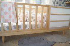 Cuna funcional 4 funciones - moises, cuna, cama hasta 4 años - cama 1 plaza