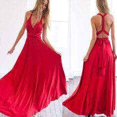 Stylish Open Back Women Long Maxi Dress   Daisy Dress for Less   Women's Dresses & Accessories