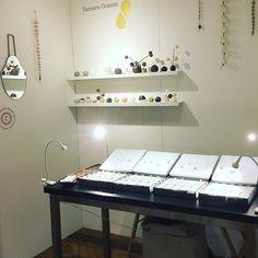 We're just about to start the private view! Been a really cool day so far... Here's my stand 105 in the Soane Hall. One Marylebone.  http://ift.tt/2dxVMuV @tuttonandyoung  #tamaragomezjewellery #rawluxury #spiritinspired #rawbeauty #ceramics #craftanddesign #londondesign #roughluxe #boholuxe #artisanjewellery #artisanjewelry #goldsmith #cockpitarts #studiolife #craftfair #onemarylebone #madeinlondon #turningearth #studiolife #girlboss