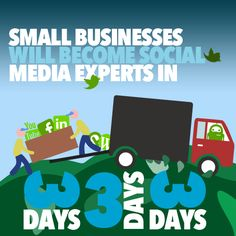 Small businesses will become social media experts in 3 days.. #smallbusiness #marketing #socialmedia #appdevelopment #mobilemarketing #design #graphicdesign #websitedesign