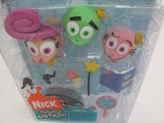 Lot of 3 Palisades Toys Fairly Odd Parents OddParents Figures Wanda