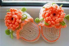 Darling little Flower Sandels!