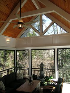 Screened Porch by Penn Carpentry, General Contractor #homeimprovement
