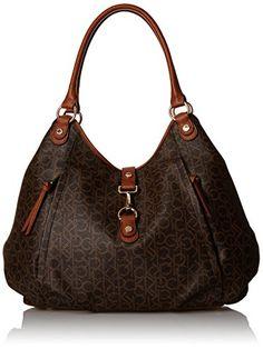 Calvin Klein Logo Shopper Tote Bag, Brown/Khaki/Luggage Saffiano, One Size Calvin Klein http://www.amazon.com/dp/B012FEAA30/ref=cm_sw_r_pi_dp_H86swb180JYTH