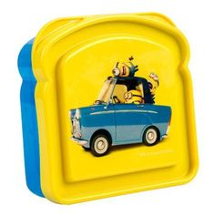 Minion Plastic Sandwich Container with Lid