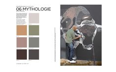 Colors Fall Winter 2016/2017 MYTHOLOGIE - Grey/Low Green and Beige/Brown/Anthrazit Peclers Paris