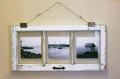 window frame crafts | Old Window Picture Frame