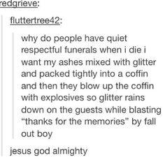 Tumblr funerals