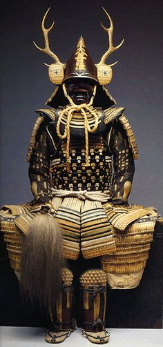 Samurai armor.  The armor of each family differed. 18th to early 19th century, Japan.