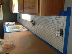 Kitchen Backsplash End where to end kitchen backsplash - houzz | everything kitchen