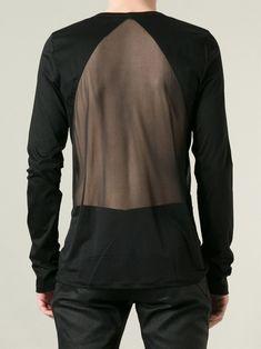See through clothing men