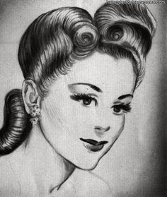 hairdos from the 1940s kerchiefs from 1940s - Google Search
