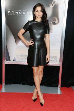 Shanina Shaik at Concussion New York City Premiere