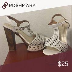 "*lowered price! Brand New Bakers Nikki pumps! Brand New With Box Never Worn Bakers Nikki pumps in White! *5 1/2"" heel height Bakers Shoes Heels"