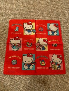 Hello Kitty House, Hello Kitty Characters, Hello Kitty Accessories, Toy House, Sanrio Hello Kitty, Travel Gifts, Special Day, Kids Rugs, Kawaii